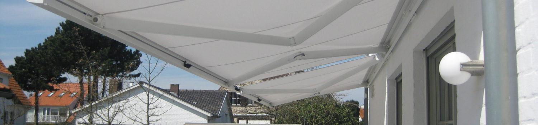 Ducana plaatst zonwering in de regio Brugge