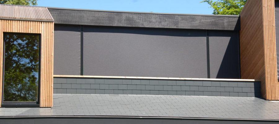 Windvaste inbouwscreen
