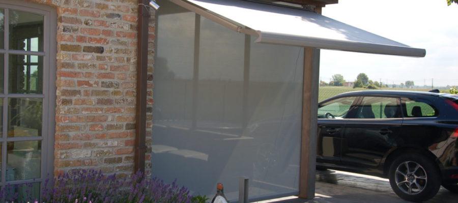 zonnescherm en screen